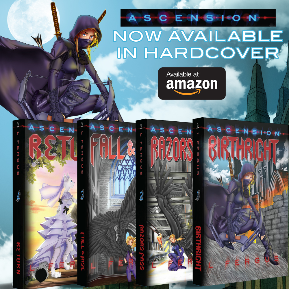 Ascension Hardcovers NowAvailable!
