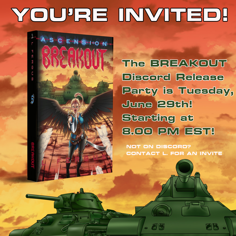 Breakout Discord Release Party June29th