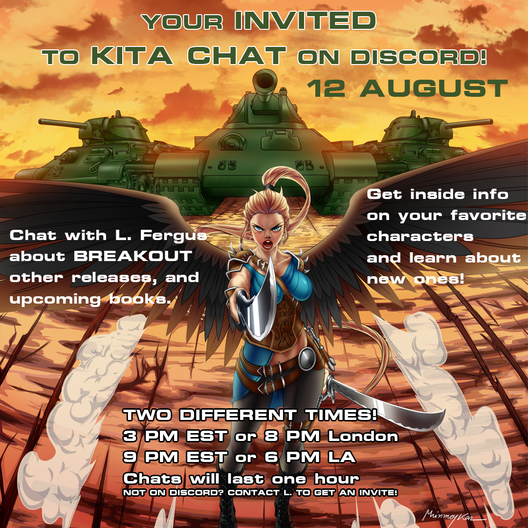Kita Chat on Discord! August12th!